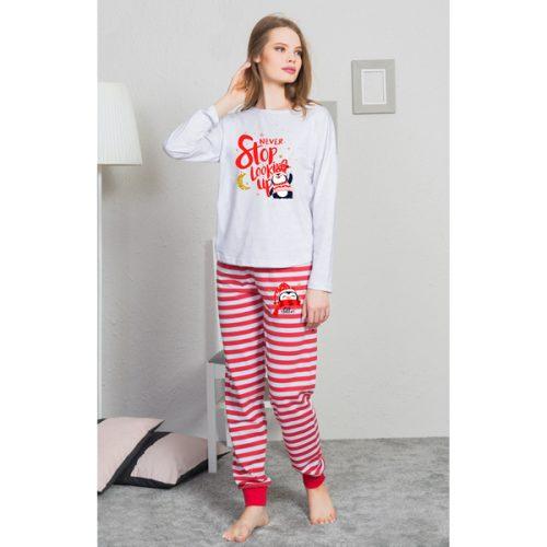 Dámske pyžamko s tučniakom