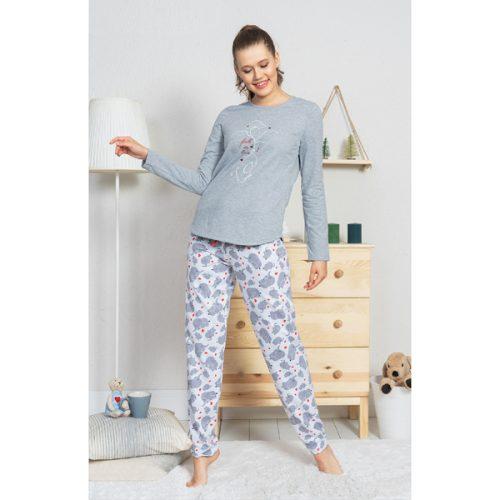 Dámske pyžamo Vienetta zateplené